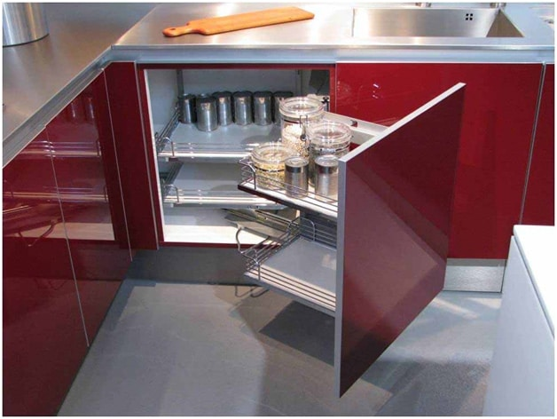 The Best and Affordable Corner Storage Units For Your Kitchen